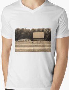 Auburn, NY - Drive-In Theater Mens V-Neck T-Shirt