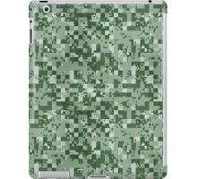 Cube Camo - Green iPad Case/Skin