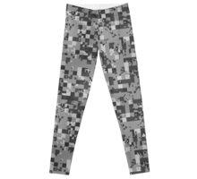 Cube Camo - Gray Leggings