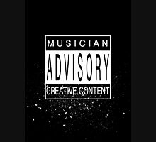 Musician Advisory Unisex T-Shirt