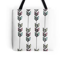 Chevron Arrow Patterns Tote Bag