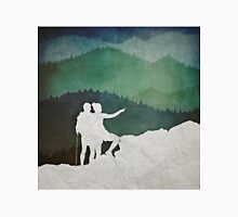 Trailblazers: A Couple of Hikers Unisex T-Shirt