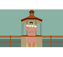 Minimalist Suzy Bishop - Moonrise Kingdom Photographic Print