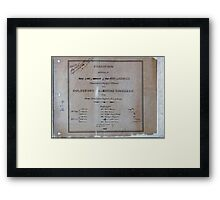 Civil War Maps 1104 Maps illustrating Gen'l Sherman's ''March to the sea'' and through the Carolinas and Virginia 04 Framed Print