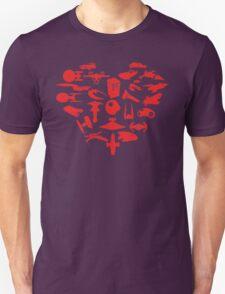 My Heart is Geek- Valentine's Day! Unisex T-Shirt