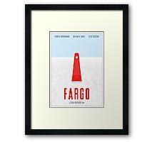 Fargo film poster Framed Print