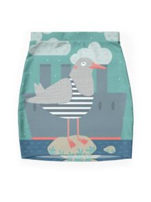 A seagull Mini Skirt