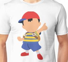 Ness Smash 4 Design Unisex T-Shirt