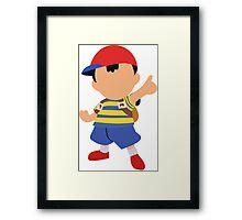 Ness Smash 4 Design Framed Print