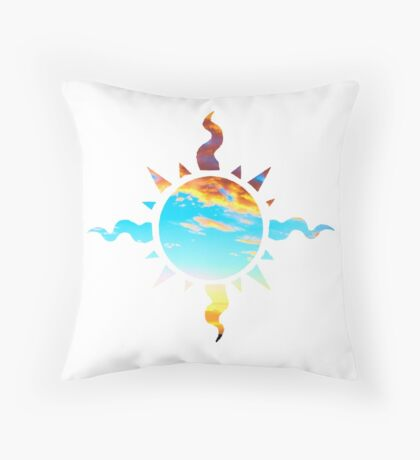 Hero of Light Throw Pillow