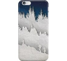 A Hike in the Snow iPhone Case/Skin