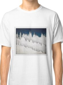A Hike in the Snow Classic T-Shirt