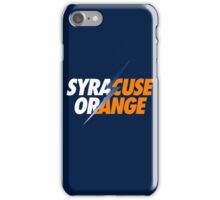 SYRACUSE ORANGE iPhone Case/Skin
