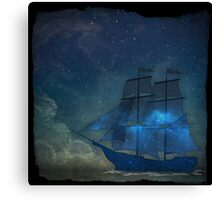 Ships and Stars Canvas Print