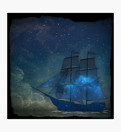 Ships and Stars Photographic Print