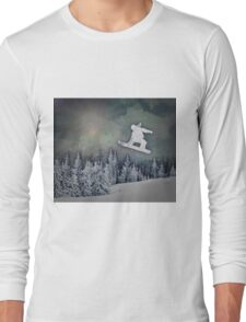 The Snowboarder Long Sleeve T-Shirt