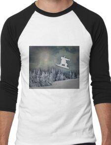 The Snowboarder Men's Baseball ¾ T-Shirt
