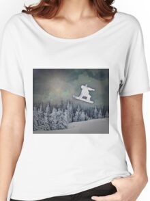 The Snowboarder Women's Relaxed Fit T-Shirt
