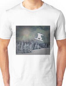 The Snowboarder Unisex T-Shirt