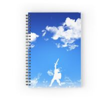 Hero of the Skies Spiral Notebook