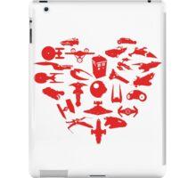 My Heart is Geek- Valentine's Day! iPad Case/Skin