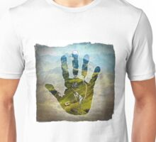 Earth Hand Print Unisex T-Shirt