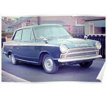 1963 Ford Cortina GT Poster