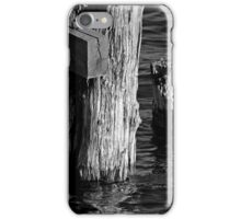 Old Dock Parts 2 BW iPhone Case/Skin