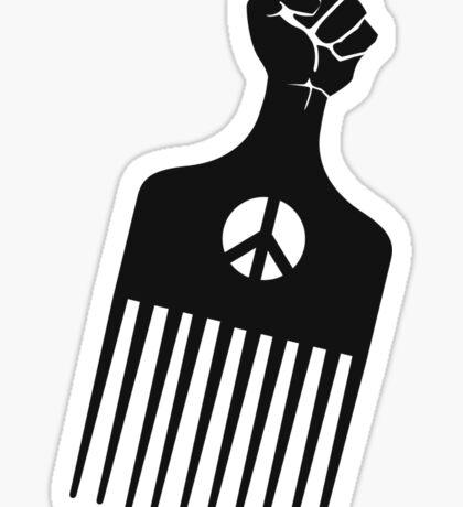 Black Panther Pick Sticker