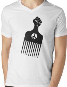 Black Panther Pick Mens V-Neck T-Shirt