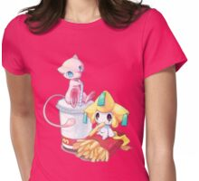 Jirachi & Mew Womens Fitted T-Shirt