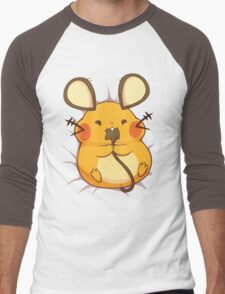 Dedenne Men's Baseball ¾ T-Shirt