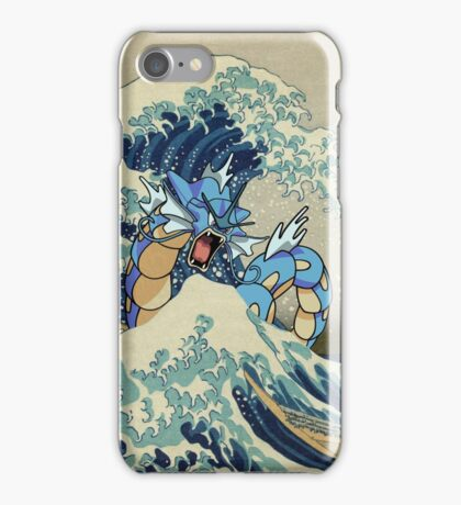 The Great Wave Off Gyarados iPhone Case/Skin