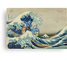 The Great Wave Off Gyarados Canvas Print