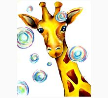 Bubbles and A Giraffe Unisex T-Shirt