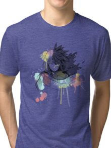 Howl watercolor  Tri-blend T-Shirt