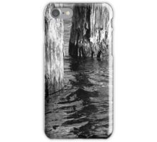 Two Old Pilings 4 BW iPhone Case/Skin