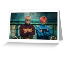 BIGBANG - GD & TOP ZUTTER Greeting Card