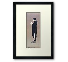 Beggarstaffs, Hamlet and the Skull Framed Print