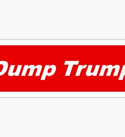 Bumper Sticker 2016 Series: Dump Trump Sticker