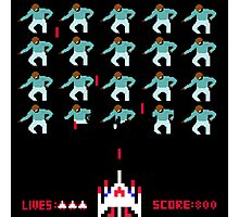 Space Invaders Meets Drake Photographic Print