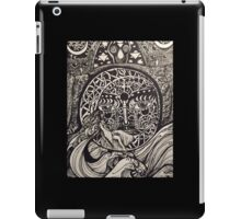 Arianrhod over the waves iPad Case/Skin
