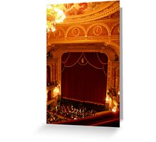 Opera Greeting Card