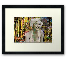 Marilyn on Hollywood Blvd. Framed Print