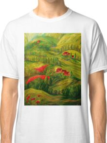 Tuscany at Dawn Classic T-Shirt