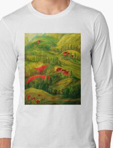 Tuscany at Dawn Long Sleeve T-Shirt