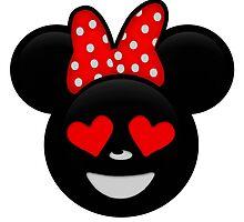 Minnie Emoji - In Love by LauryQuinn