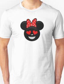 Minnie Emoji - In Love T-Shirt