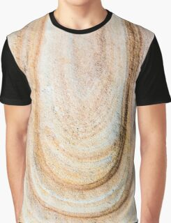 Australian rock formation background, sandstone texture Graphic T-Shirt