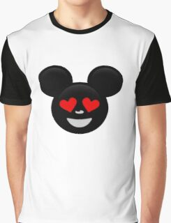 Micky Emoji - In Love Graphic T-Shirt